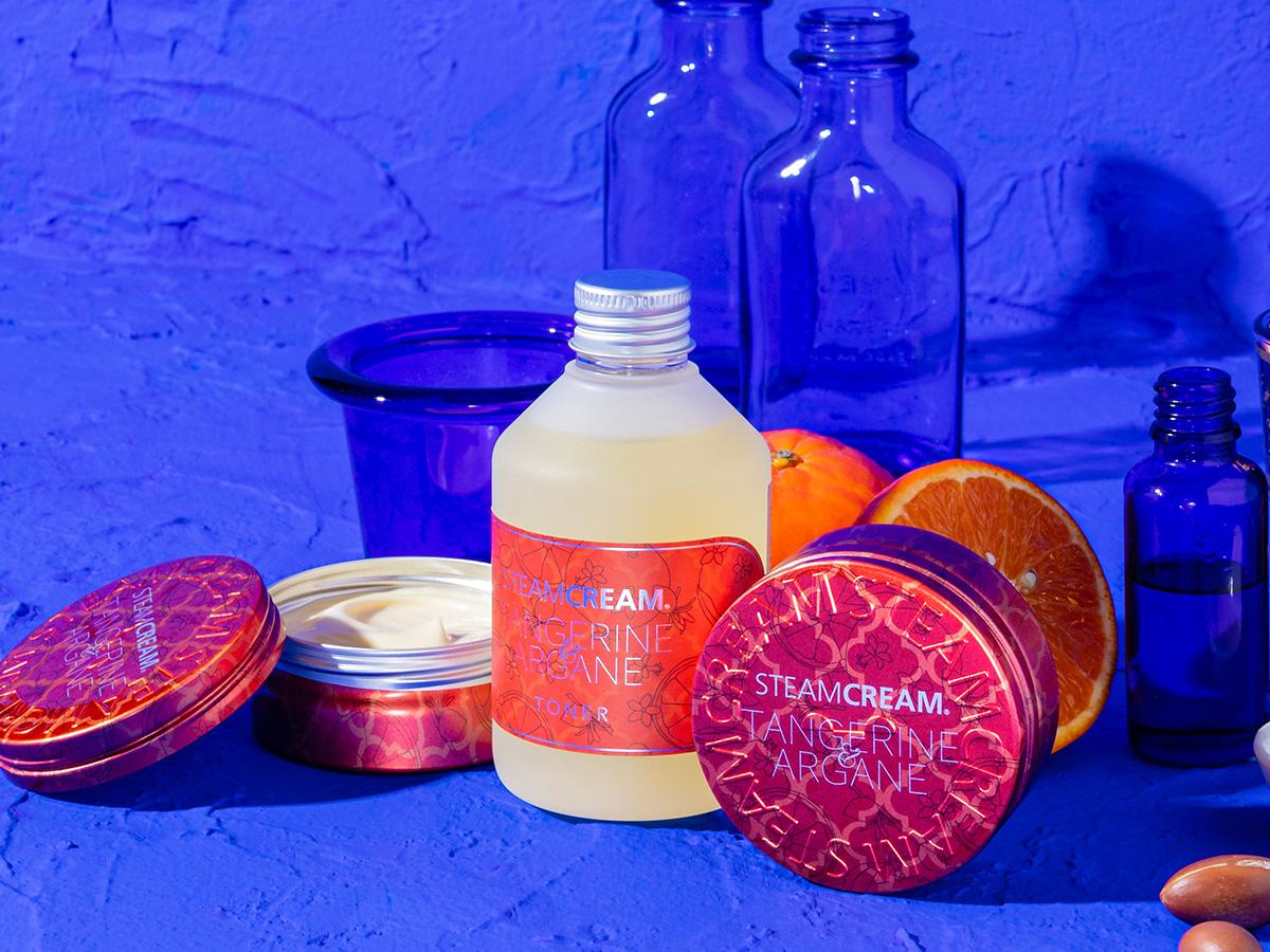 スチームクリーム 自然の恵み感じるアルガンオイル配合の新製品が発売