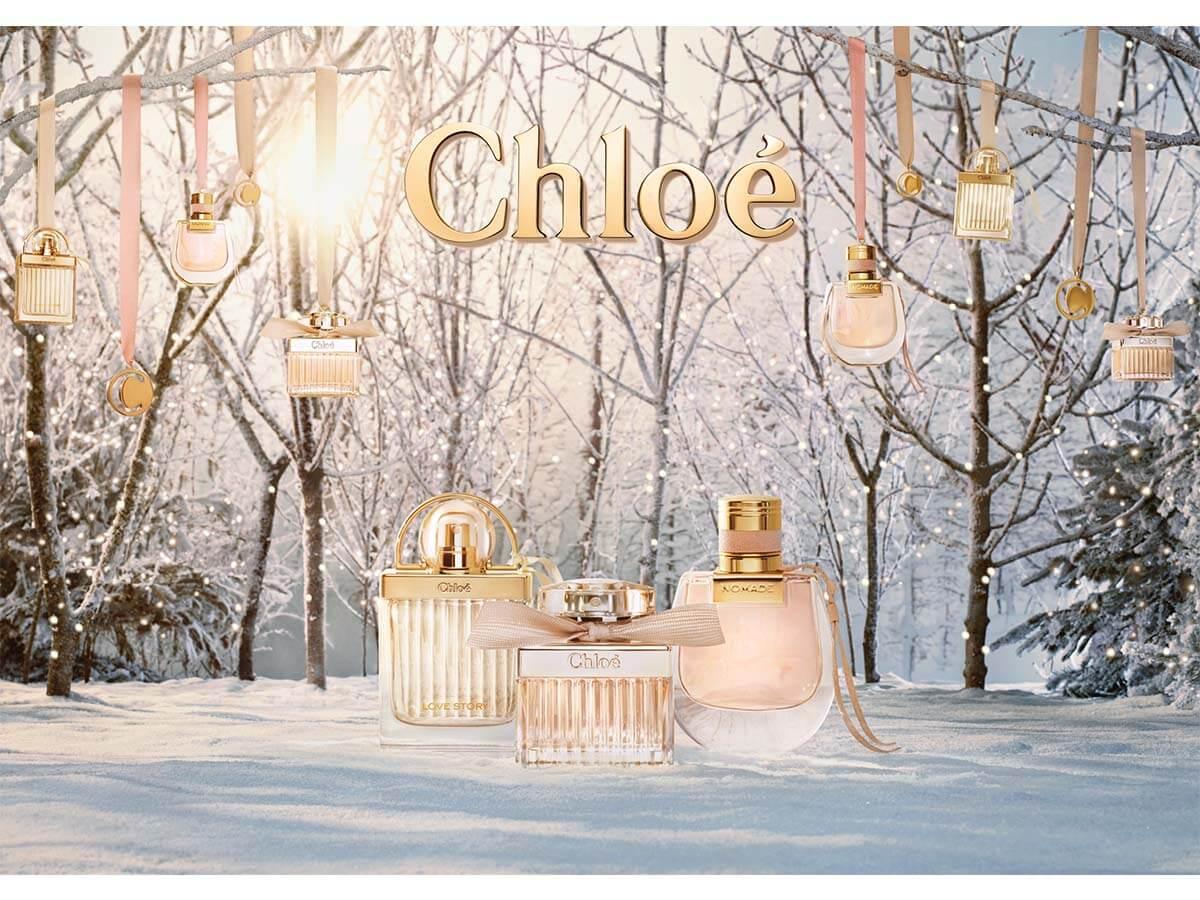 クロエを代表する2つのフレグランス数量限定でクリスマスコフレ発売!