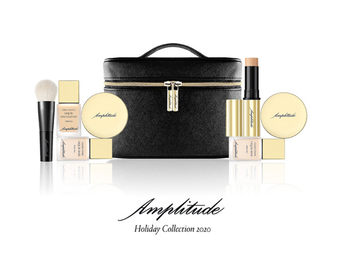 Amplitude Holiday Collection2020 第2弾ベースメイクキット限定発売