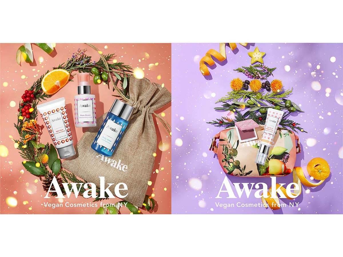ヴィーガンブランド『Awake』が贈る2020年ホリデーキット限定発売!