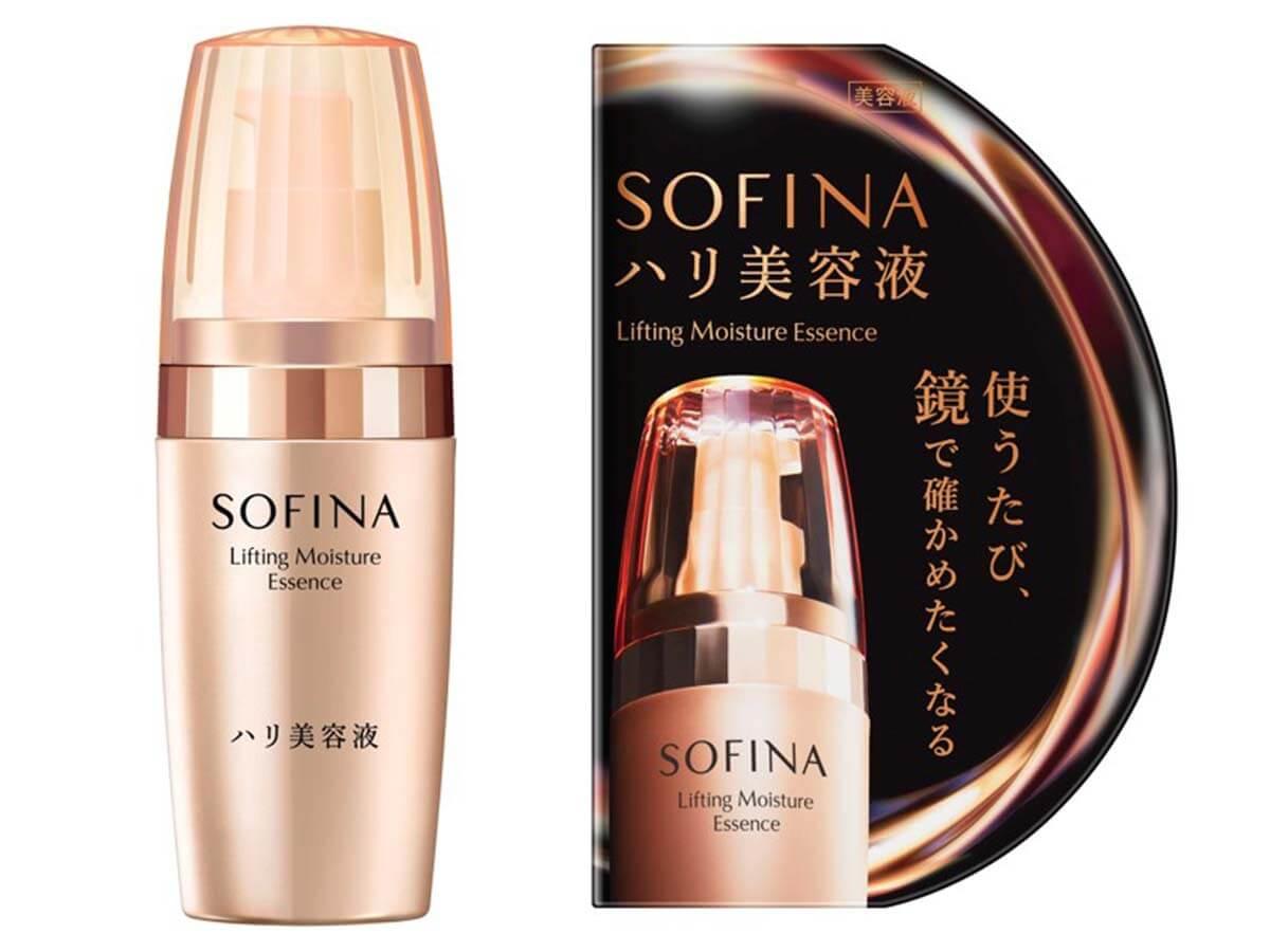 もっちり弾力感のあるハリ満ちる肌に『ソフィーナ ハリ美容液』発売