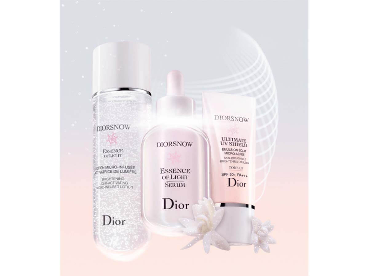 透明感あふれる肌へ導くディオール スノーのスター美容液が進化