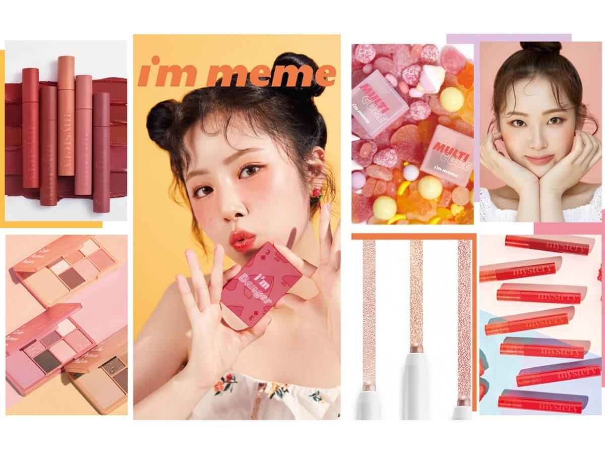 韓国発の人気プチプラコスメ『I'M MEME(アイムミミ)』日本に本格上陸
