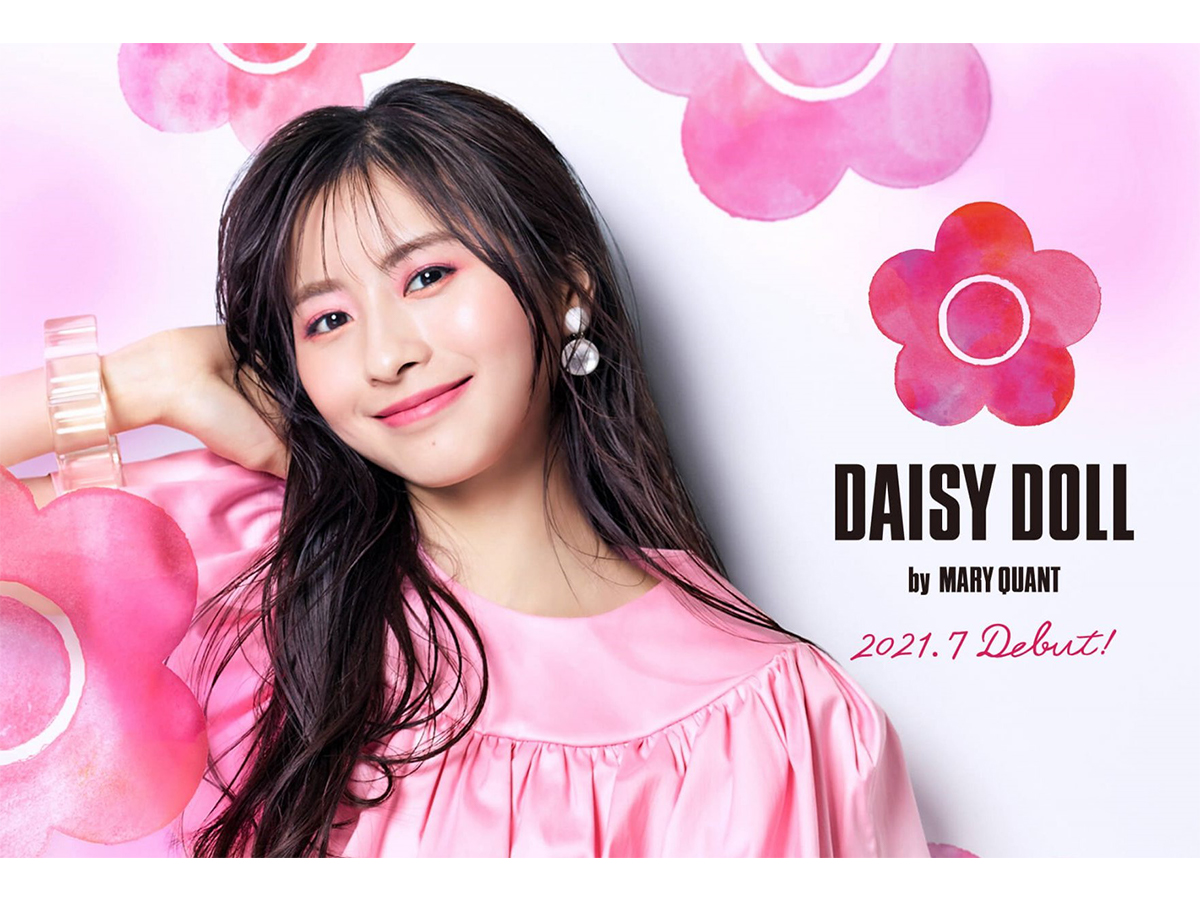 MARY QUANTセカンドブランド『DAISY DOLL by MARY QUANT』発売