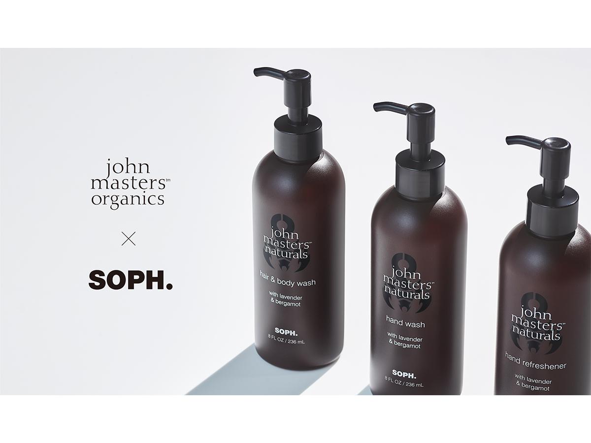 ジョンマスターオーガニックSOPH.とのコラボ商品を発売