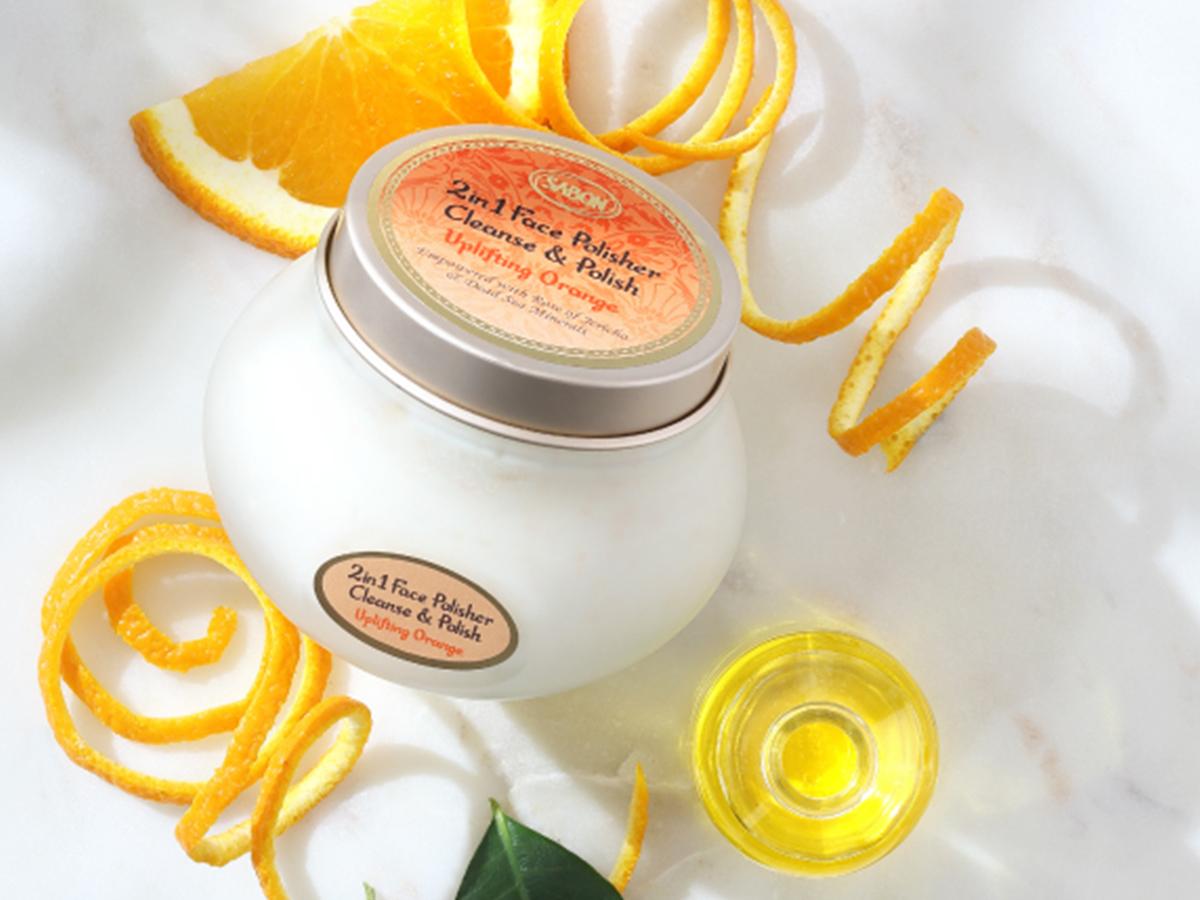 「サボン」スクラブ洗顔限定スイートオレンジの香り